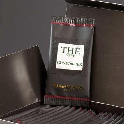 Thé vert Gunpowder Dammann Frères - 24 sachets suremballés
