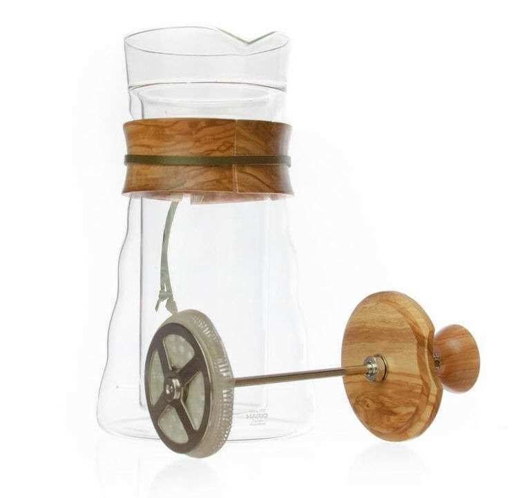 hario french press olive wood 3 0
