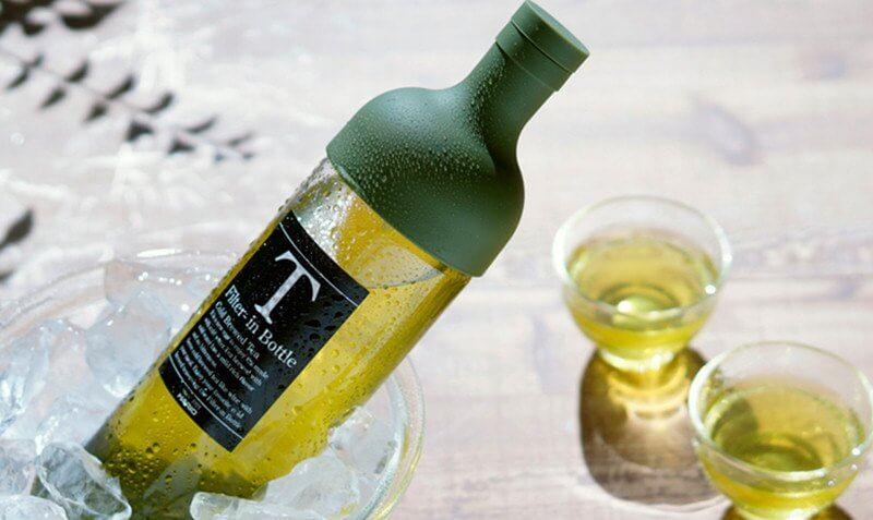Hario - Bouteille d'infusion thé à froid - Verte