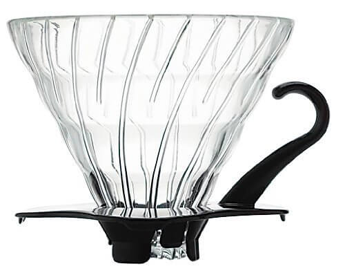 HARIO Dripper V60 en verre Black 1–6 tasses