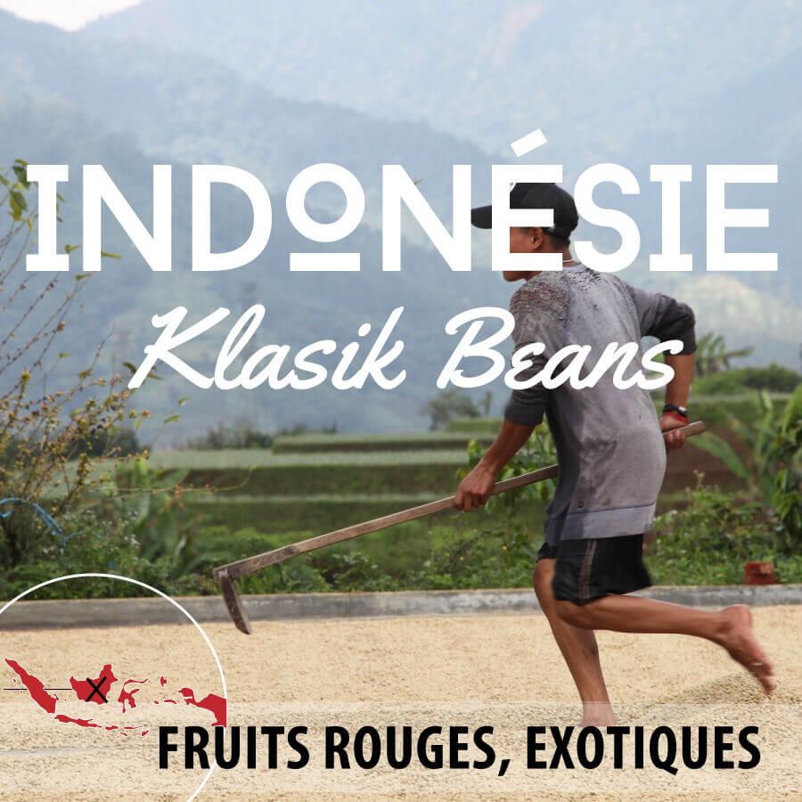 Café en grain INDONESIE - Ile de Java - Klasik Beans grade1