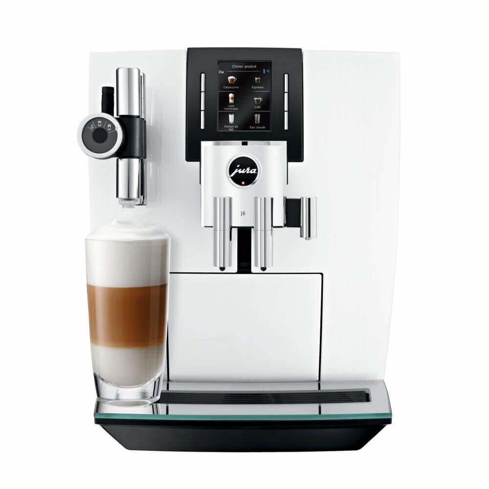j6 jura pianowhite machine cafe ref15165  2