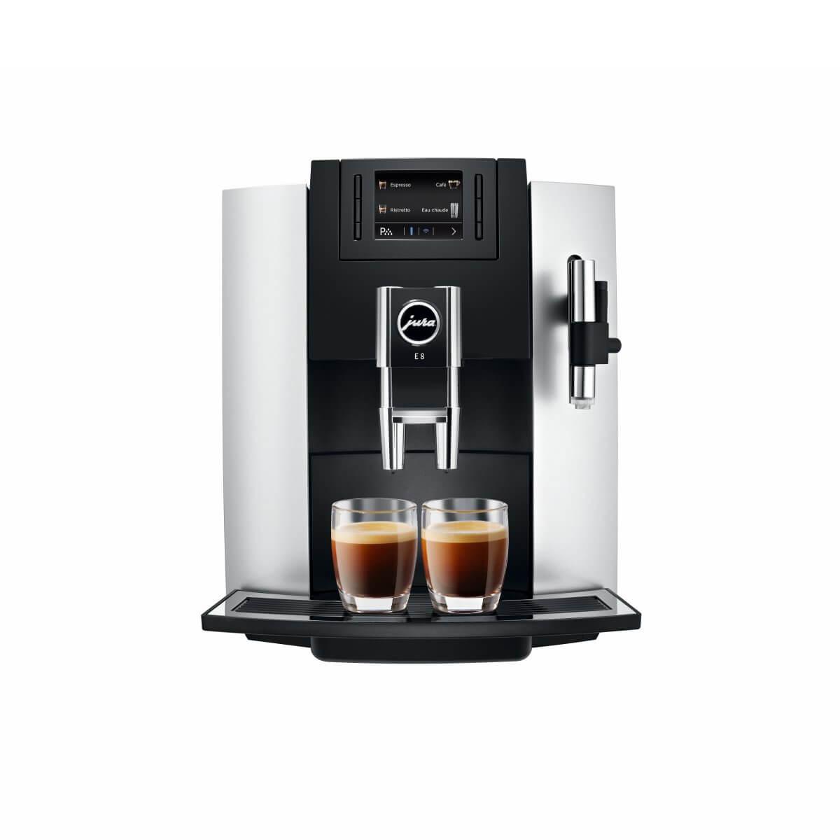 jura e8 platine p e p 2017 garantie 3 ans machine caf automatique caf s pfaff. Black Bedroom Furniture Sets. Home Design Ideas