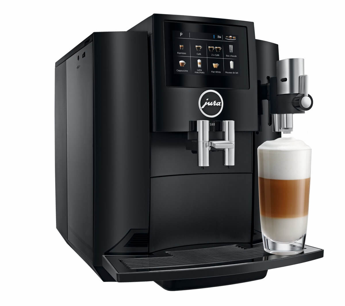 jura s80 full black machine cafe automatique  1