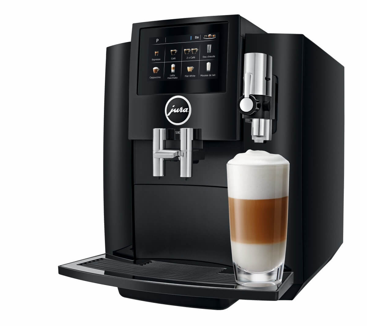 jura s80 full black machine cafe automatique  2