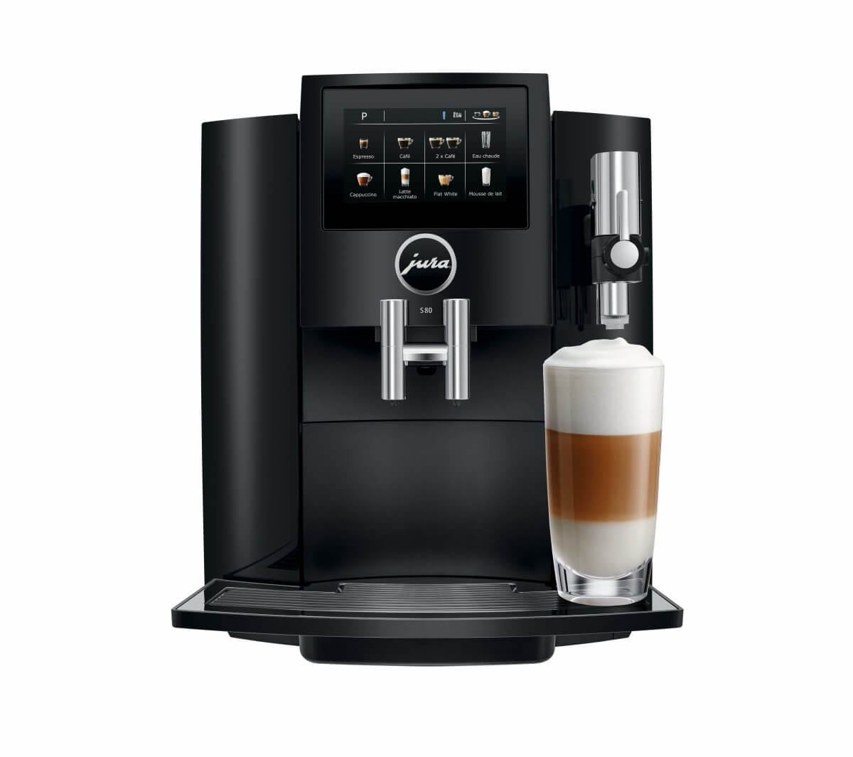 jura s80 full black machine cafe automatique  4