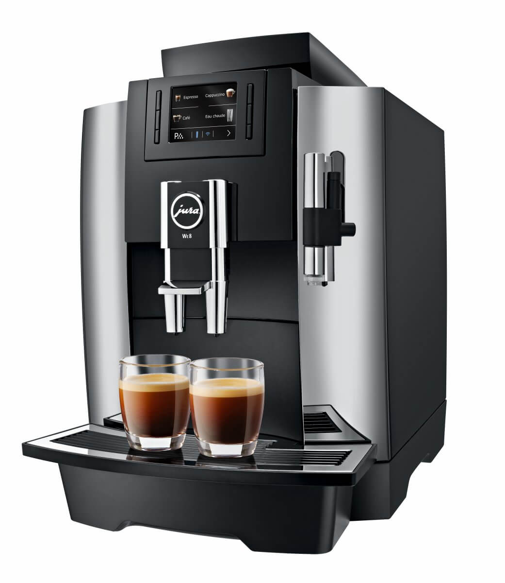 Jura we8 professionnal 2016 machine caf office jura for Materiel professionnel cafe
