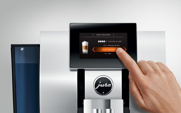 jura z8 aluminium machine cafe automatique jura exclu cafes pfaff ref15063  3