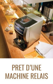 location machine à café : pret d'une machine relais
