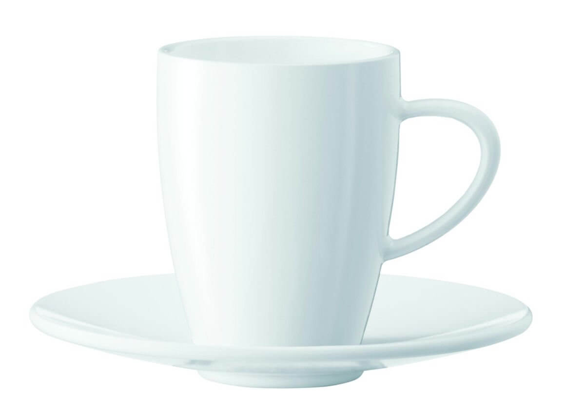Tasses à expresso - lot de 6 tasses + sous-tasses