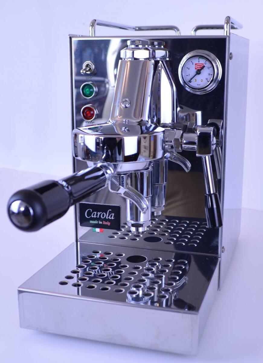 machine a cafe quickmill carola inox 1