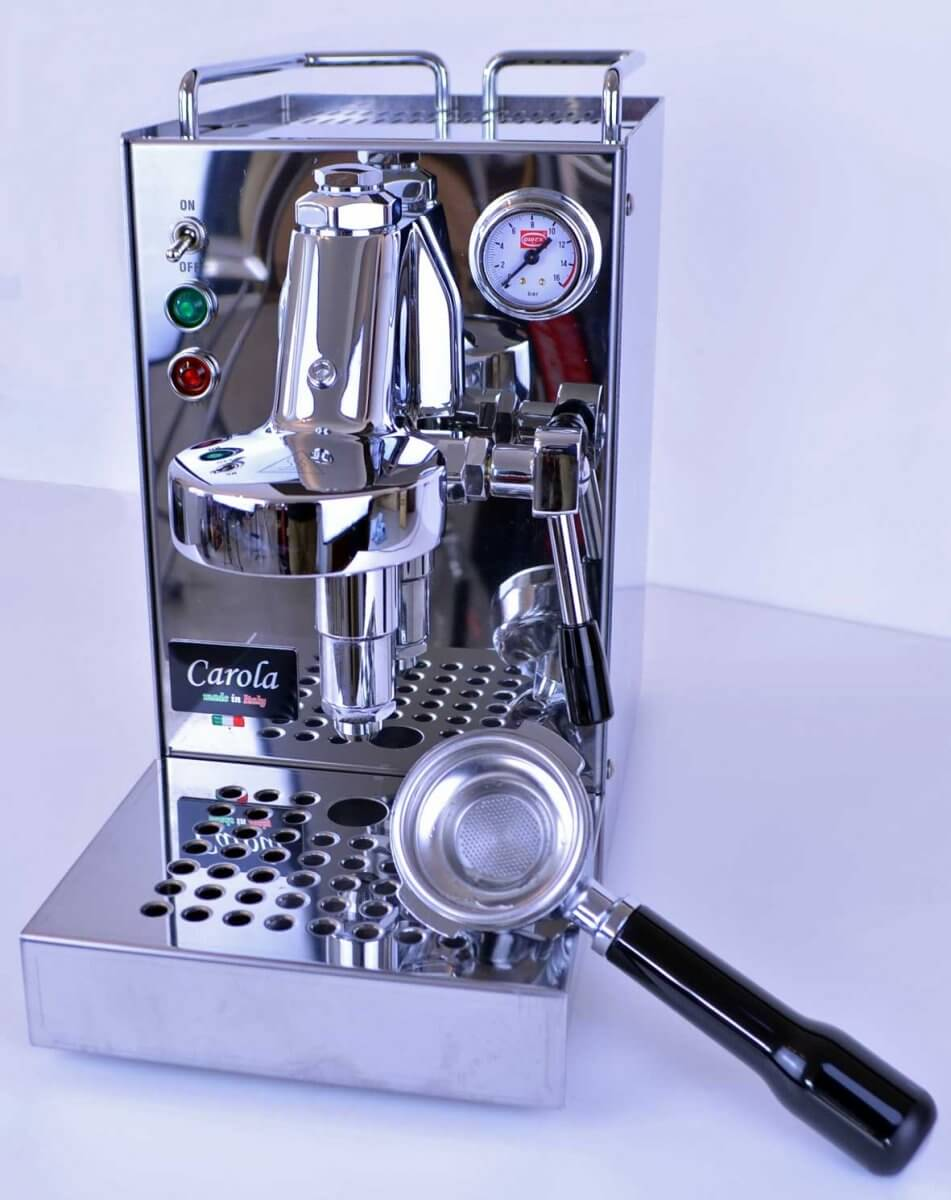 machine a cafe quickmill carola inox e61