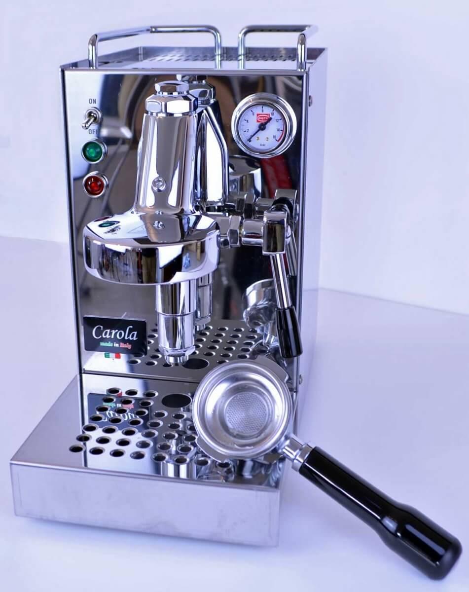 machine a cafe quickmill carola inox e61