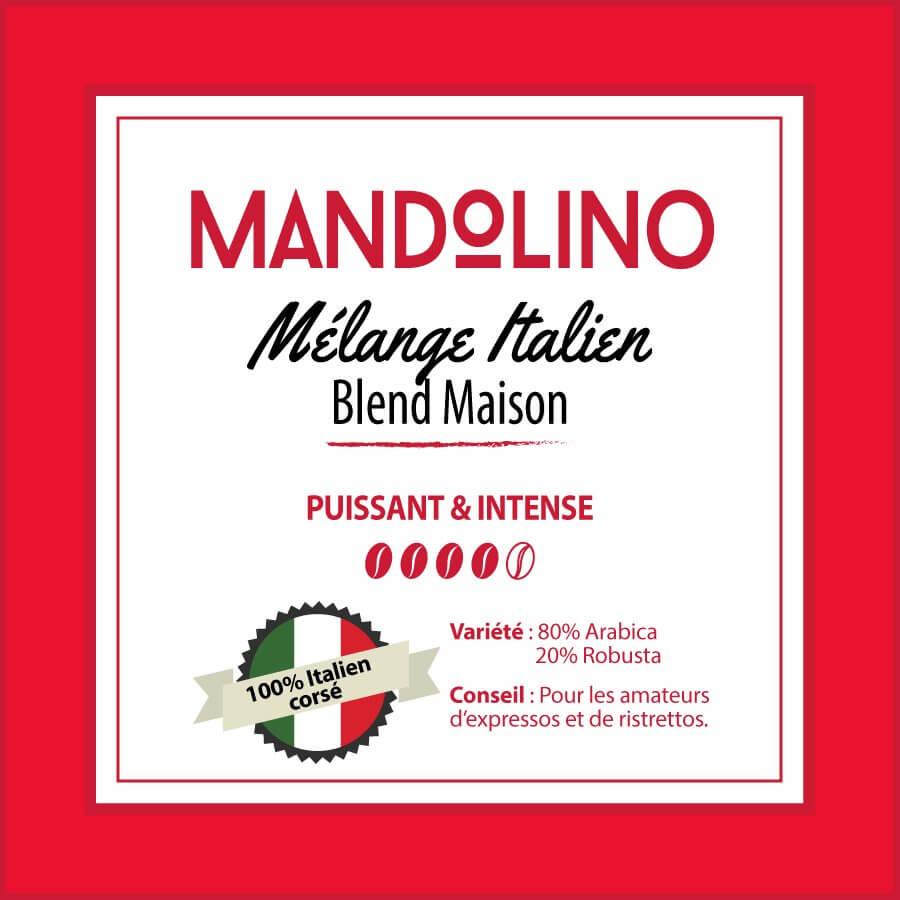 BLEND MAISON - Mandolino - café moulu
