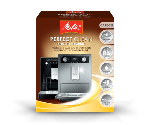 melitta perfect clean espresso machines care set
