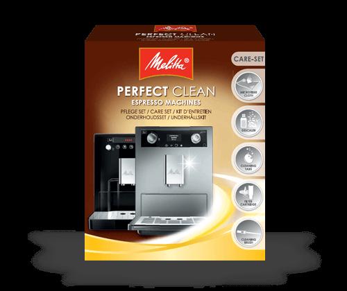 Entretien Melitta - Kit d'entretien pour machines automatiques Perfect Clean Espresso Machines