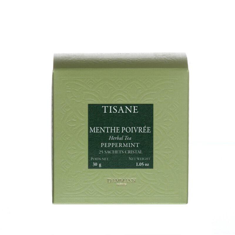 Tisane Menthe poivrée, 25 sachets Cristal