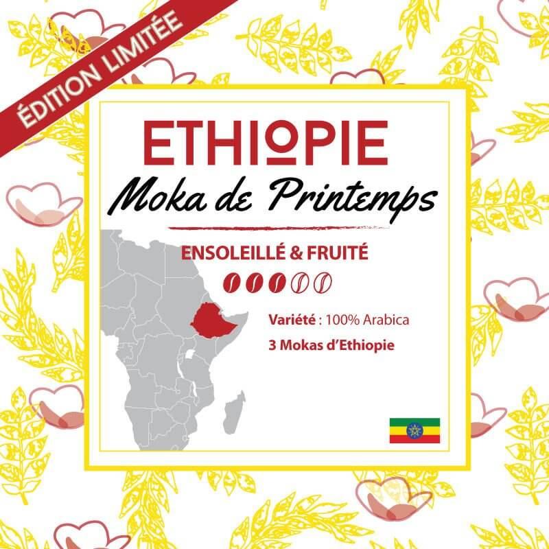 Café ETHIOPIE - Moka de Printemps - café moulu