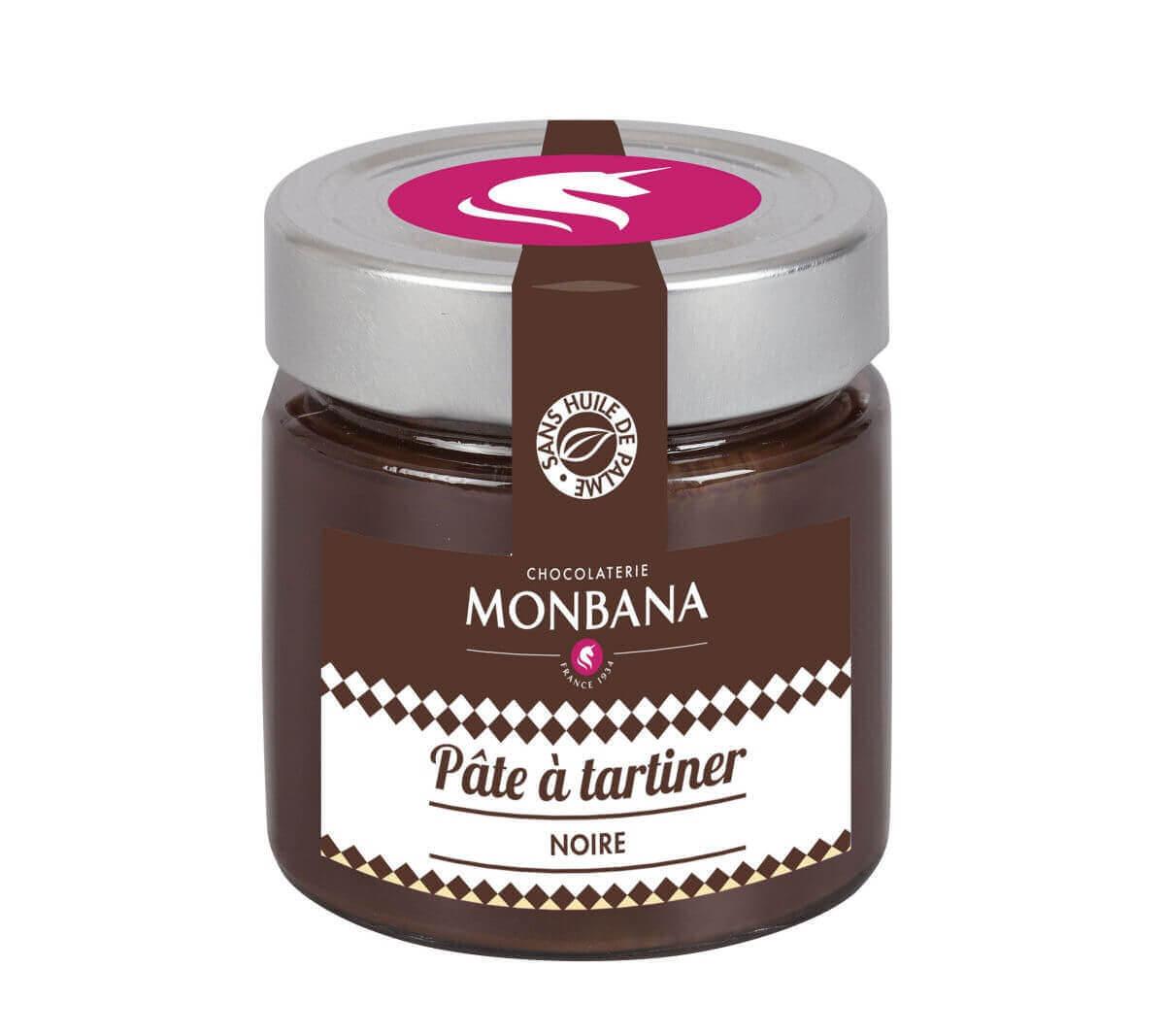 monbana pate tartiner chocolat 154041