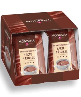 monbana presentoir dosettes lacte