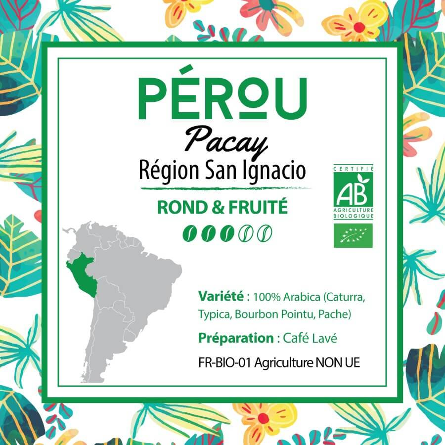 Café PEROU - Pacay - Région San Ignacio - café moulu
