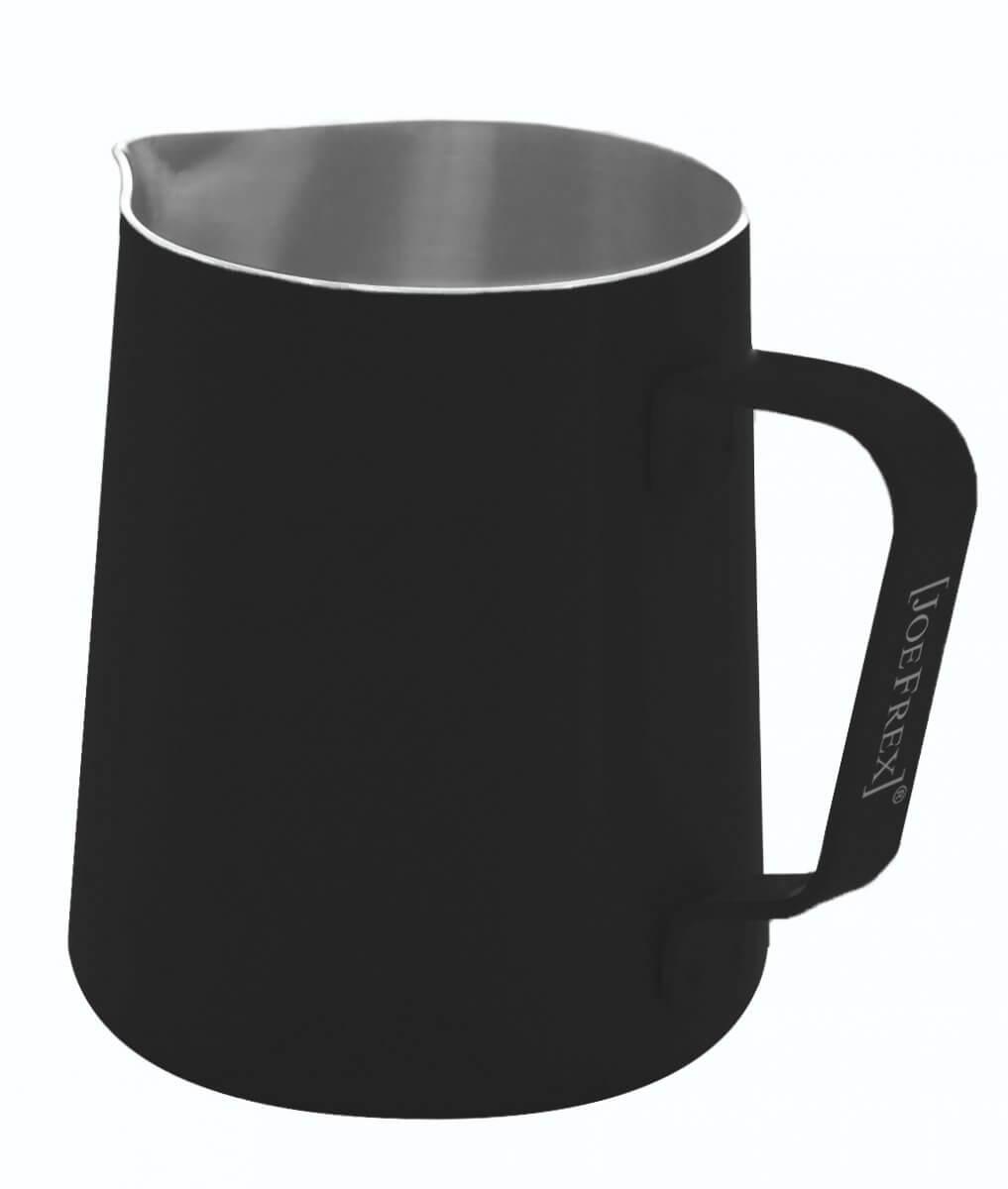 pichet lait 590ml noir joefrex mk06b