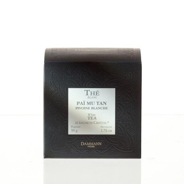 Pivoine blanche (Paï Mu Tan) - boite 25 sachets Cristal