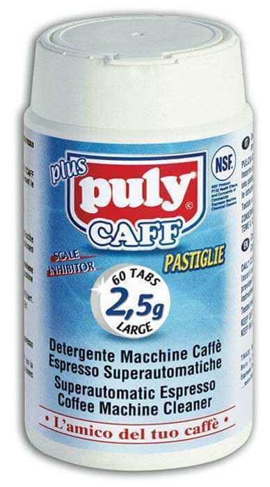 puly caff pastille machine nettoyage automatique