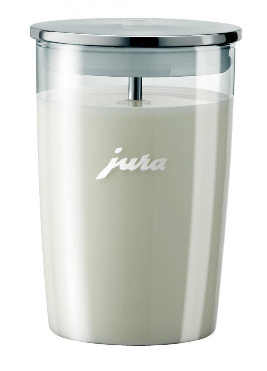 Récipient à lait en verre JURA