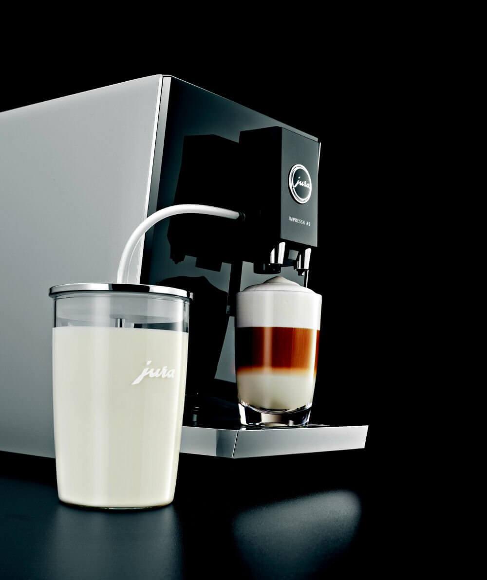 r cipient lait en verre jura accessoires machine jura caf s pfaff. Black Bedroom Furniture Sets. Home Design Ideas