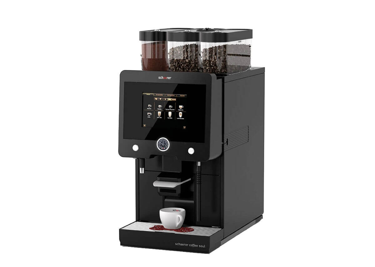 schaerer coffee soul machine caf automatique pro machine caf professionnelle caf s pfaff. Black Bedroom Furniture Sets. Home Design Ideas