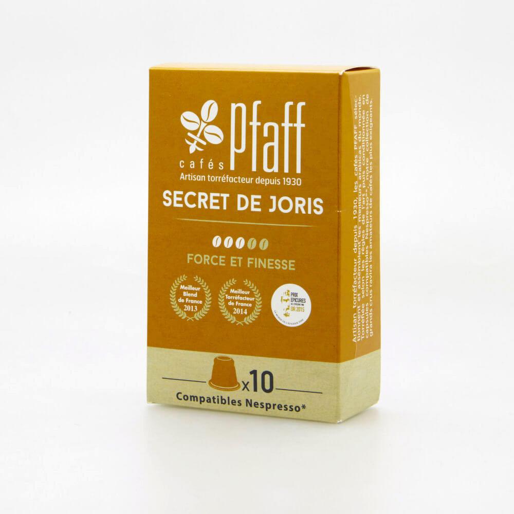 secret de joris capsules cafes cafes pfaff2017 2