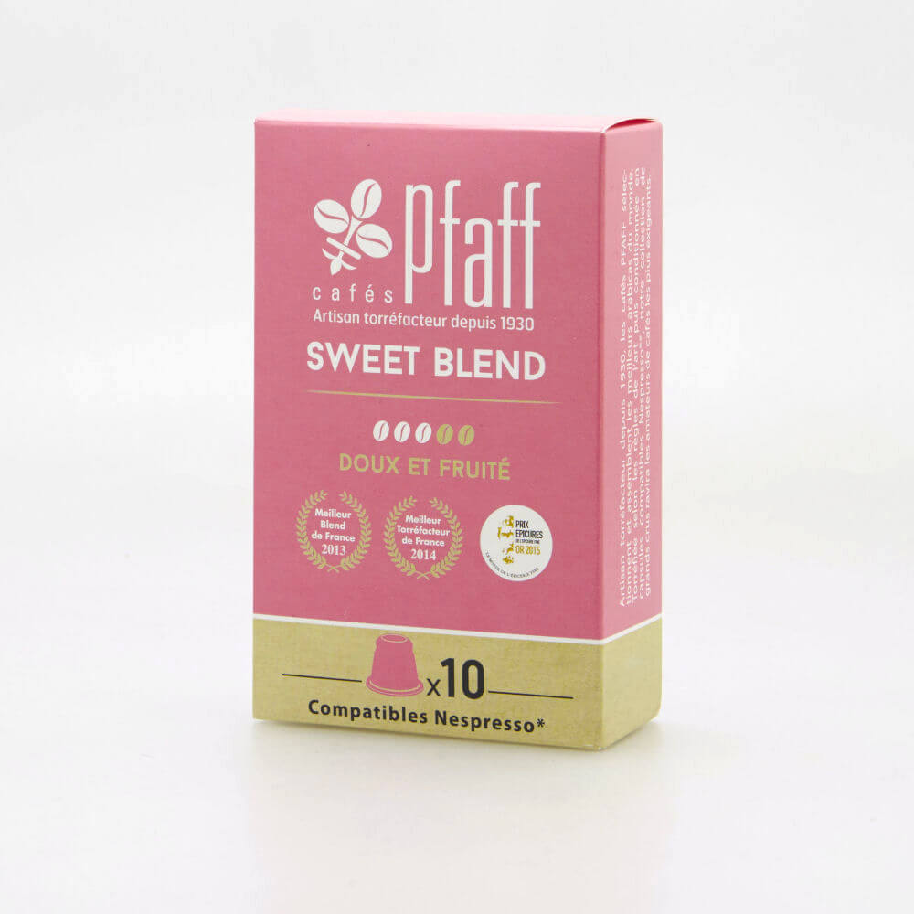 sweet blend capsules cafes cafes pfaff2017 2