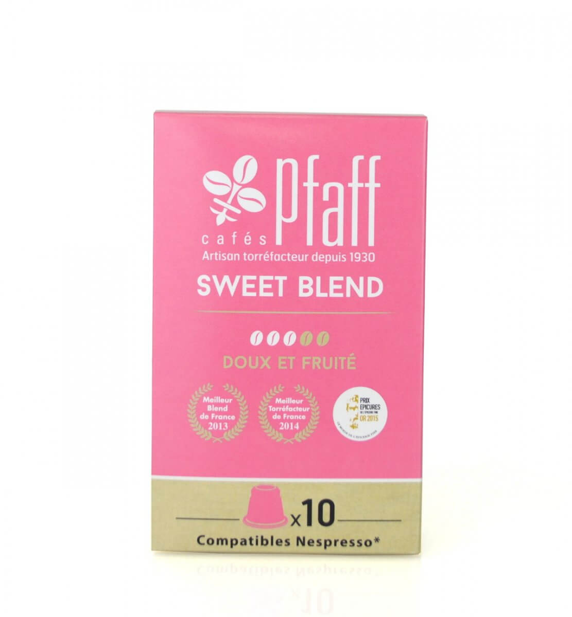 sweetblend capsules compatibles nespresso cafes pfaff
