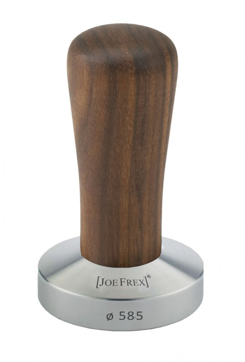 Tamper base Ø58.5mm avec un manche en bois Clair JoeFrex