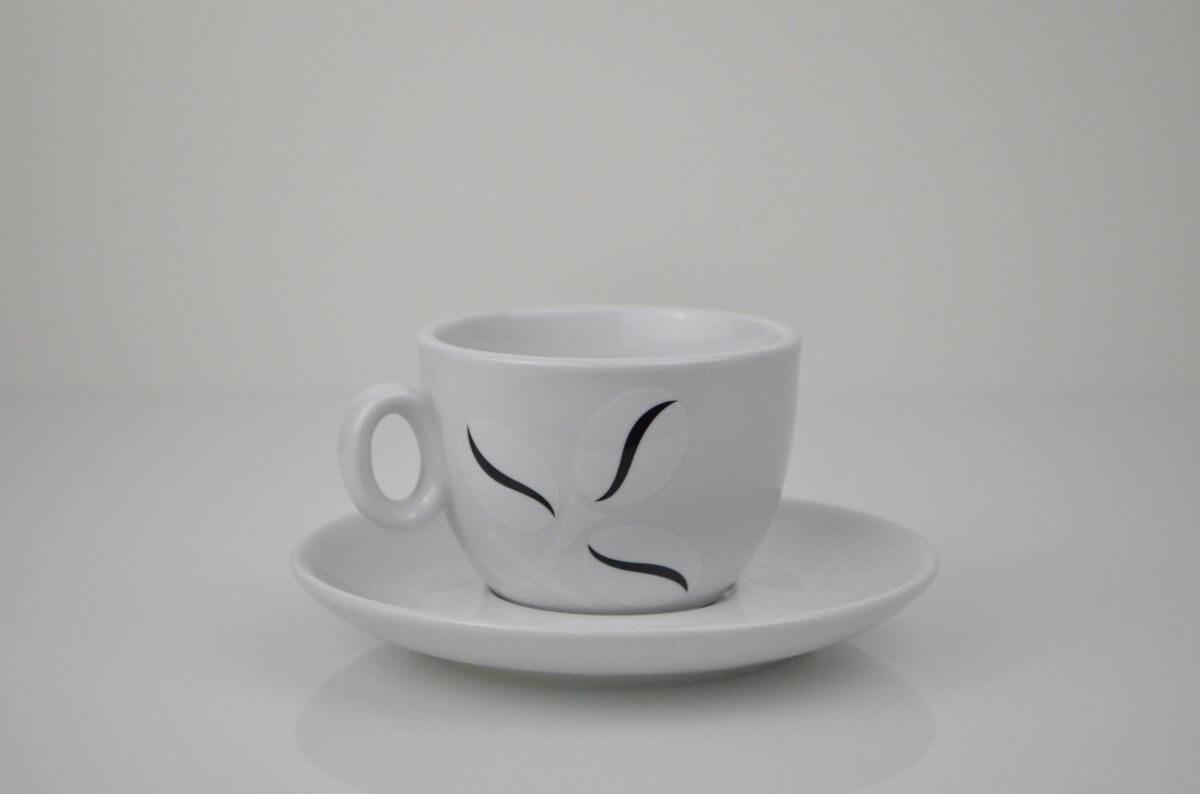 Tasses à Cappuccino - Cafés Pfaff -  Lot de 6