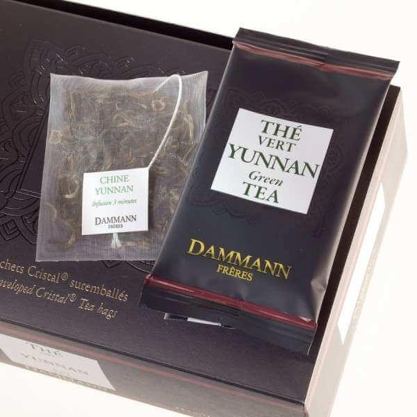 Thé vert du Yunnan Dammann Frères - 24 sachets suremballés