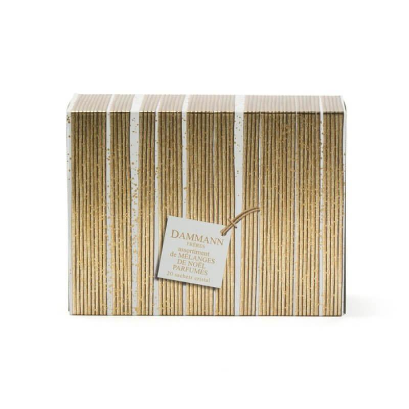 Thés & infusions de Noël - Coffret 20 sachets assortis