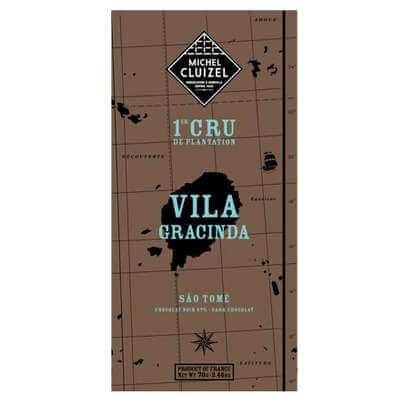Tablette Vila GRACINDA 67% - 1ers Crus de Plantation - chocolatier Cluizel