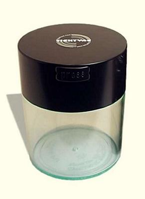 Boîte à café avec vide d'air - Coffeevac 250g/0.8L transparente