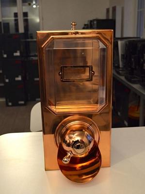 Silo à café  - finition cuivre  - capacité 4,5 kg