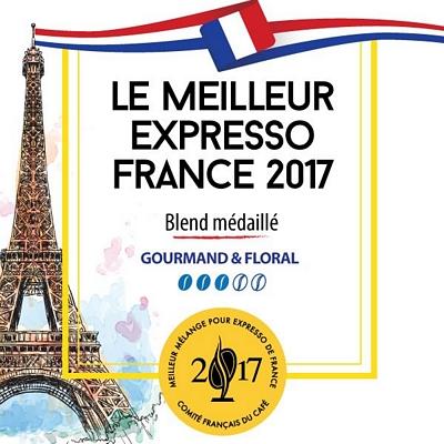 Café en grain Le Meilleur Expresso de France 2017