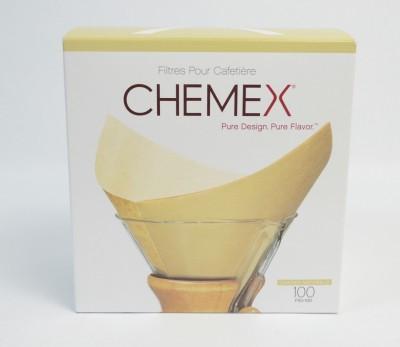 100 filtres naturels pour cafetière - CHEMEX®
