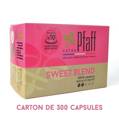 300 capsules SWEET BLEND compatibles Nespresso®*