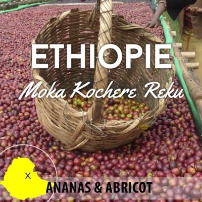 Café en grain ETHIOPIE - Moka Kochere Reku Grade 1