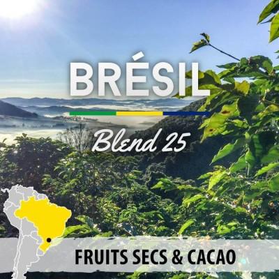 Café en grain Brésil Expresso Blend 25