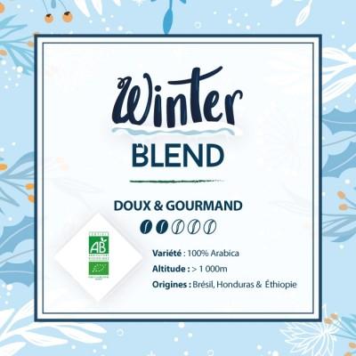 Café en grain BIO BLEND MAISON - Winter Blend