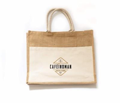 Sac toile de jute - Cafeinoman by Cafés Pfaff