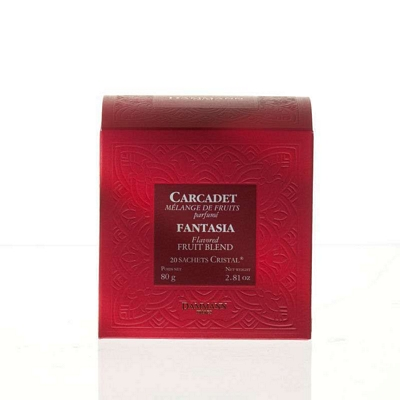 Carcadet - Fantasia - 20 sachets cristal