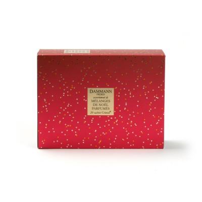 Les 5 thés parfumés de Noël - coffret assortiment de 20 sachets